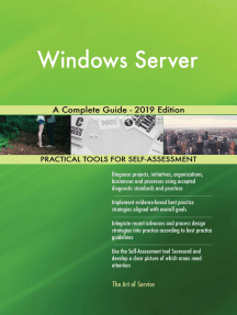 Windows Server A Complete Guide - 2019 Edition