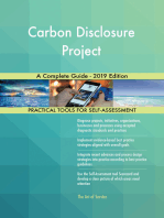 Carbon Disclosure Project A Complete Guide - 2019 Edition