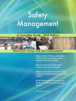 Safety Management A Complete Guide - 2019 Edition