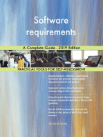 Software requirements A Complete Guide - 2019 Edition