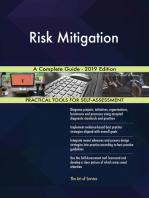 Risk Mitigation A Complete Guide - 2019 Edition