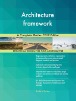 Architecture framework A Complete Guide - 2019 Edition