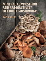 Mineral Composition and Radioactivity of Edible Mushrooms