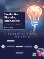 Production Planning and Control: A Comprehensive Approach