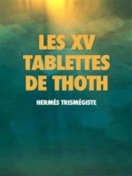 Les XV Tablettes de THOTH