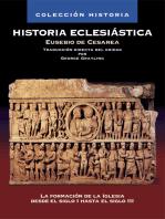 Historia Eclesiástica: La formación de la Iglesia desde el siglo I hasta el siglo III