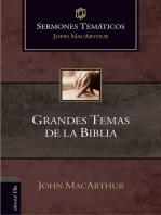 Sermones temáticos sobre grandes temas de la Bíblia