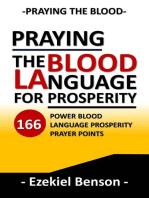 Praying the Blood Language for Prosperity