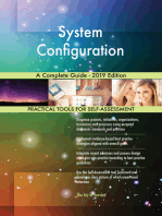 System Configuration A Complete Guide - 2019 Edition