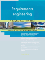 Requirements engineering A Complete Guide - 2019 Edition