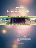 IT Process Automation Tools A Complete Guide - 2019 Edition