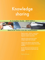 Knowledge sharing A Complete Guide - 2019 Edition