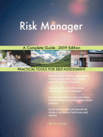 Risk Manager A Complete Guide - 2019 Edition