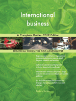 International business A Complete Guide - 2019 Edition