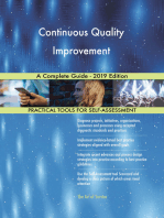 Continuous Quality Improvement A Complete Guide - 2019 Edition