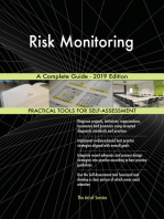 Risk Monitoring A Complete Guide - 2019 Edition