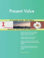 Present Value A Complete Guide - 2019 Edition