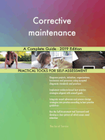 Corrective maintenance A Complete Guide - 2019 Edition