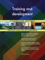 Training and development A Complete Guide - 2019 Edition