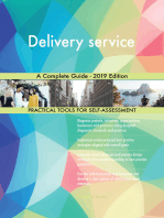Delivery service A Complete Guide - 2019 Edition