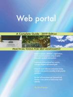 Web portal A Complete Guide - 2019 Edition