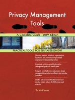 Privacy Management Tools A Complete Guide - 2019 Edition