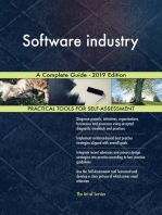 Software industry A Complete Guide - 2019 Edition