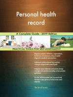 Personal health record A Complete Guide - 2019 Edition