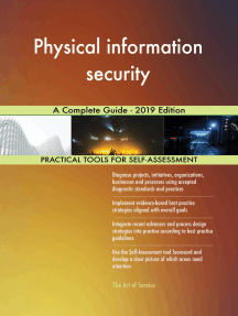 Physical information security A Complete Guide - 2019 Edition