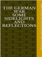 The German War Some Sidelights and Reflections