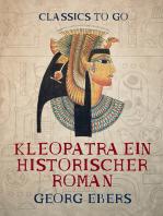 Kleopatra Ein historischer Roman