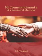 10 Commandments of a Successful Marriage