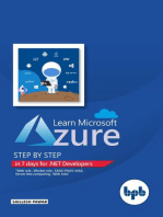 Learn Microsoft Azure Step by Step in 7 days for .NET Developers