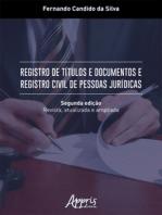 Registro de Títulos e Documentos e Registro Civil de Pessoas Jurídicas