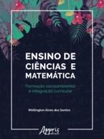 Ensino de Ciências e Matemática