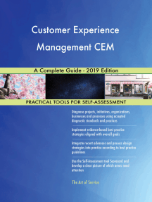 Customer Experience Management CEM A Complete Guide - 2019 Edition
