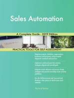 Sales Automation A Complete Guide - 2019 Edition