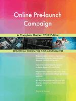 Online Pre-launch Campaign A Complete Guide - 2019 Edition