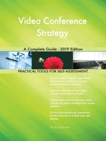 Video Conference Strategy A Complete Guide - 2019 Edition