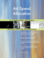 Ad Spend Allocation A Complete Guide - 2019 Edition