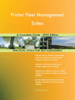 Printer Fleet Management Suites A Complete Guide - 2019 Edition