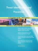 Threat Identification and Prevention A Complete Guide - 2019 Edition