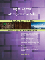 Digital Content Management for Sales A Complete Guide - 2019 Edition