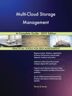 Multi-Cloud Storage Management A Complete Guide - 2019 Edition