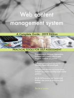 Web content management system A Complete Guide - 2019 Edition
