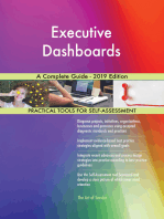 Executive Dashboards A Complete Guide - 2019 Edition