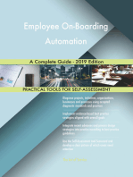 Employee On-Boarding Automation A Complete Guide - 2019 Edition