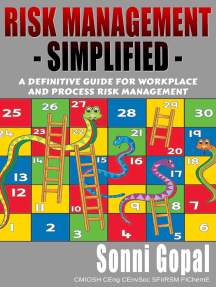 Risk Management Simplified: A Definitive Guide For Workplace and Process Risk Management
