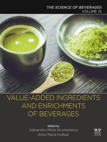 Value-Added Ingredients and Enrichments of Beverages: Volume 14: The Science of Beverages