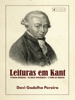 Leituras em Kant: O Ensino Religioso / Os Juízos Teleológicos / A Folha de Figueira